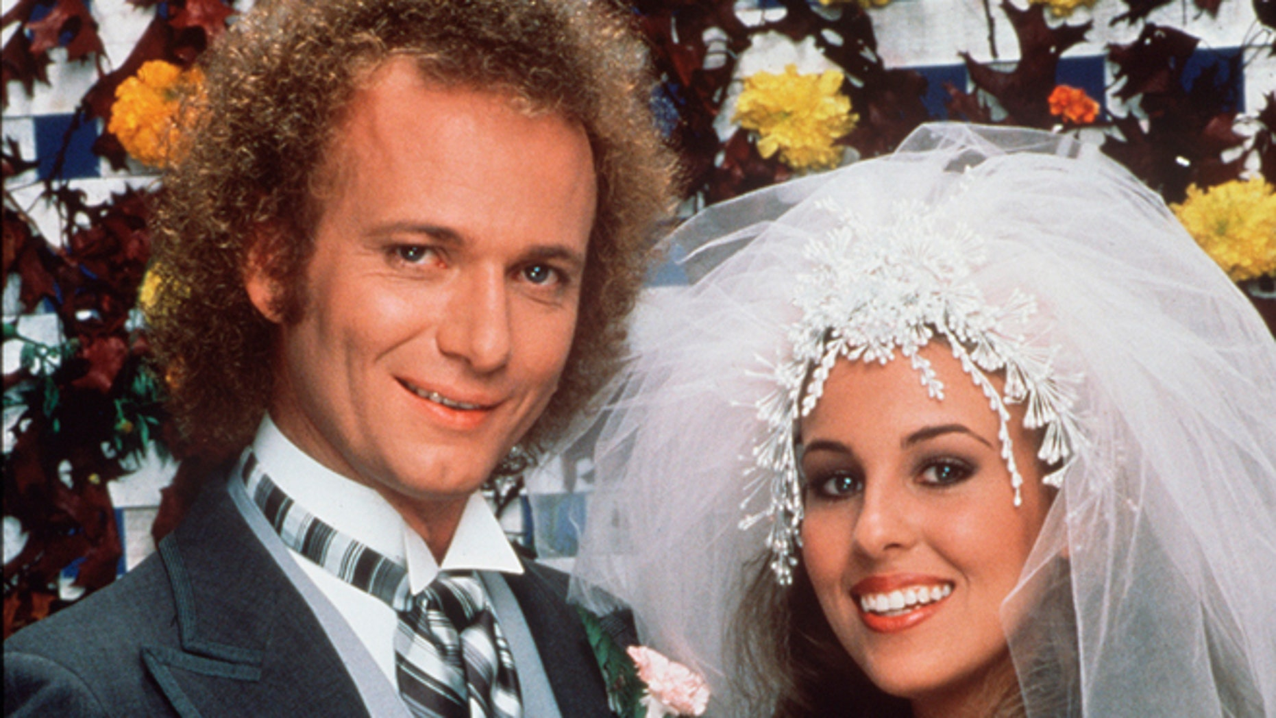 """Nov. 16, 1981. Anthony Geary portrays Luke Spencer, left, and Genie Francis portrays Laura Spencer on """"General Hospital."""""""