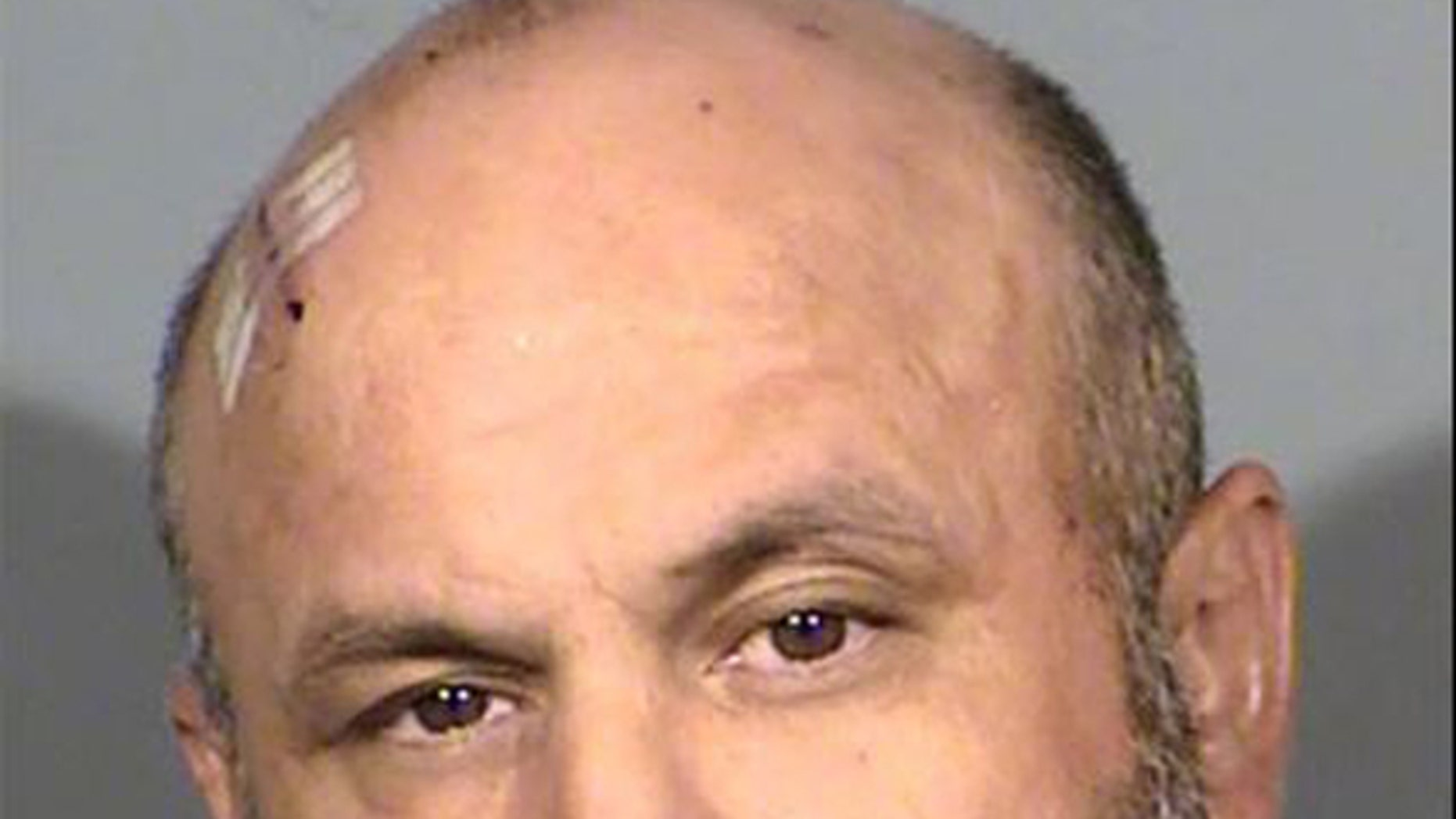 Danny Roy Salazar, 40, is accused of posing as a delivery driver to steal from Las Vegas hotels, police said.