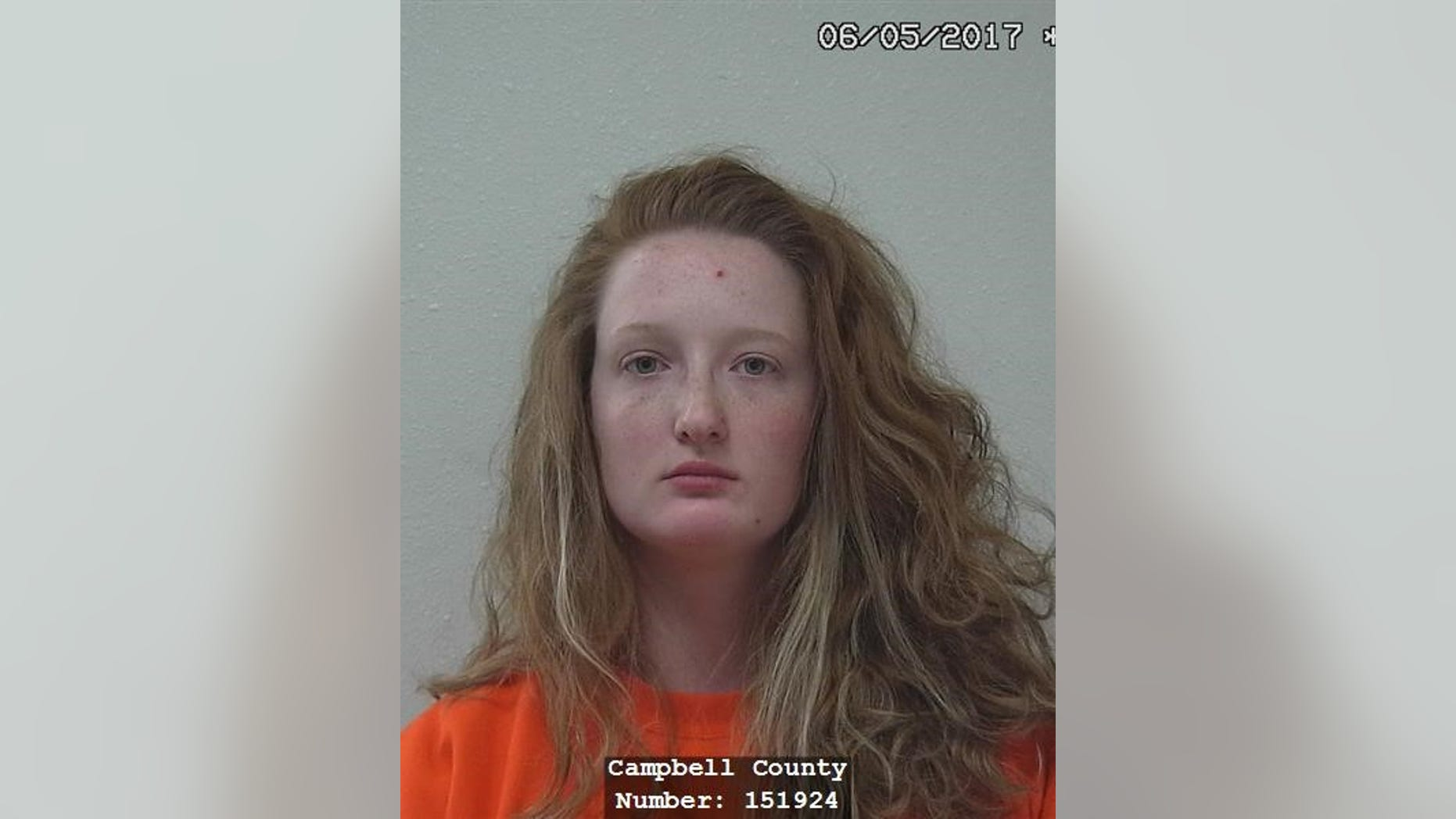 Lydia Marie Cormaney, 23, was caught shoplifting and claims she was studying kleptomania.