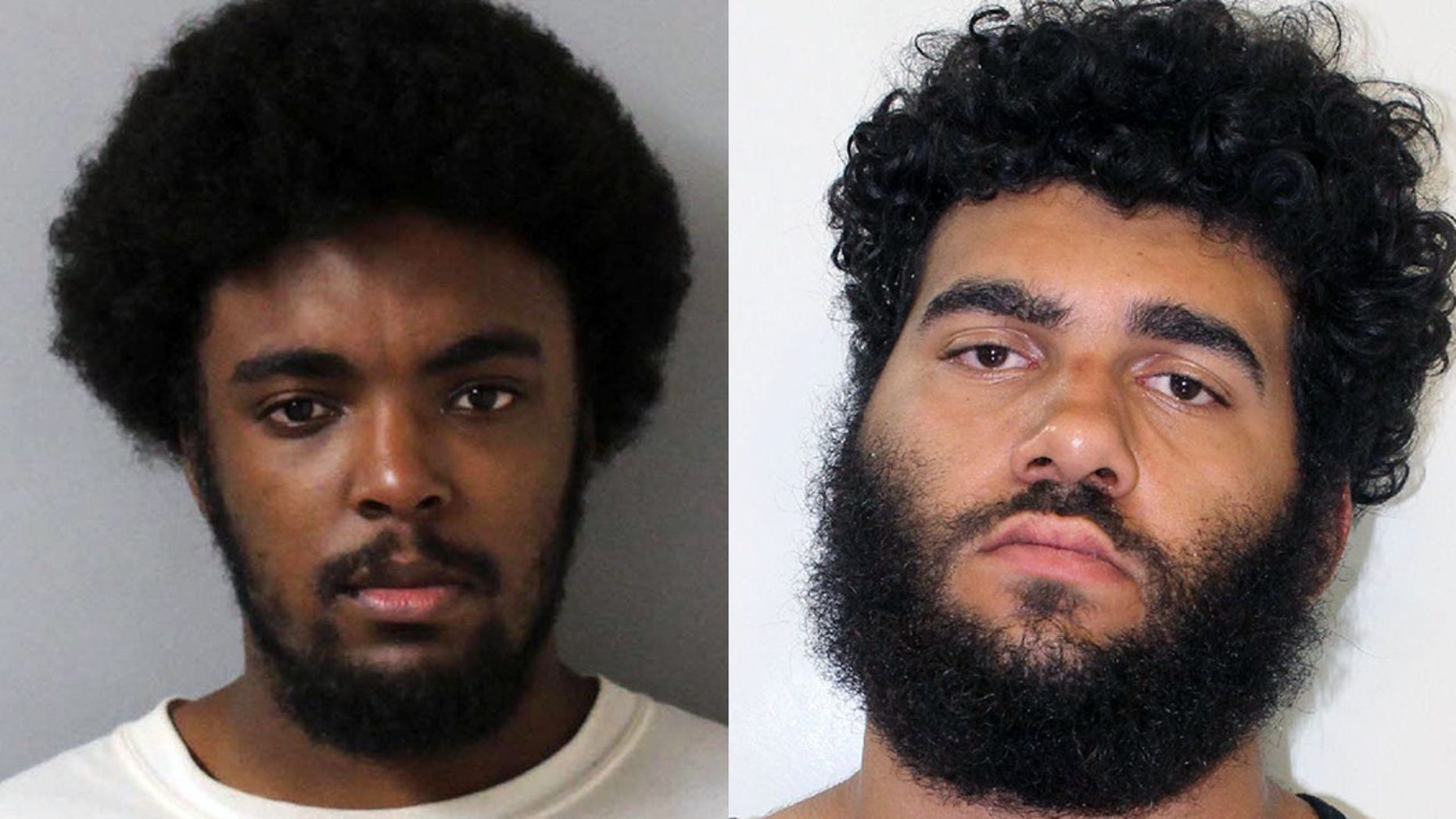 Lacory Lytle, left, and Demontrey Logsdon, are wanted for questioning in a series of shootings that have killed three people.
