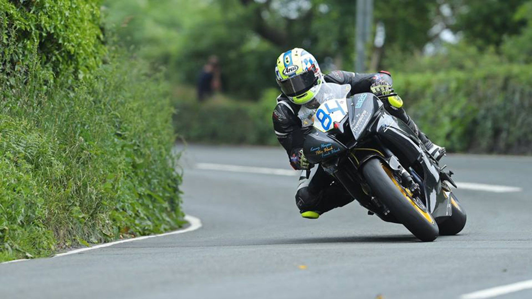 Adam Lyon was competing in his first Isle of Man TT when he suffered a fatal crash.