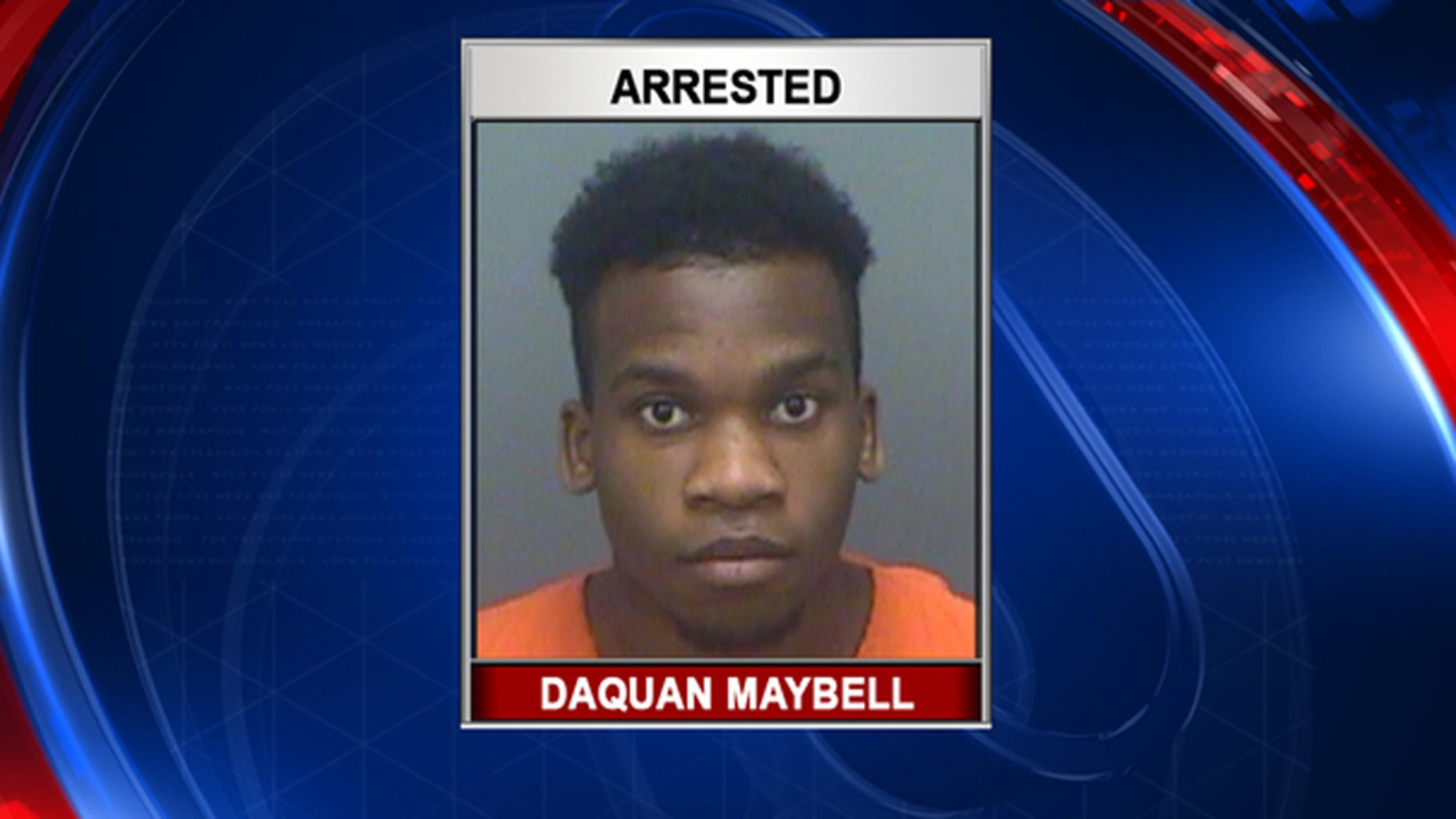Dequan Maybell, a high school student in Florida who was arrested for bringing a machete to campus.