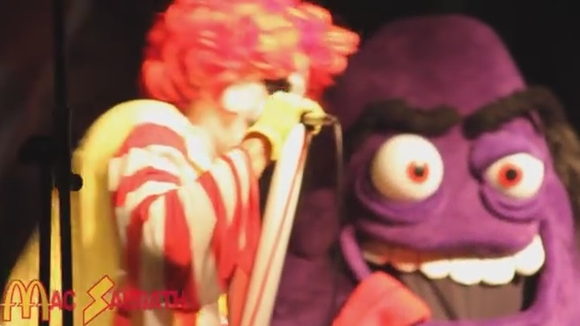 Mac Sabbath does cover songs from the heavy metal band Black Sabbath, but with a fast food twist.