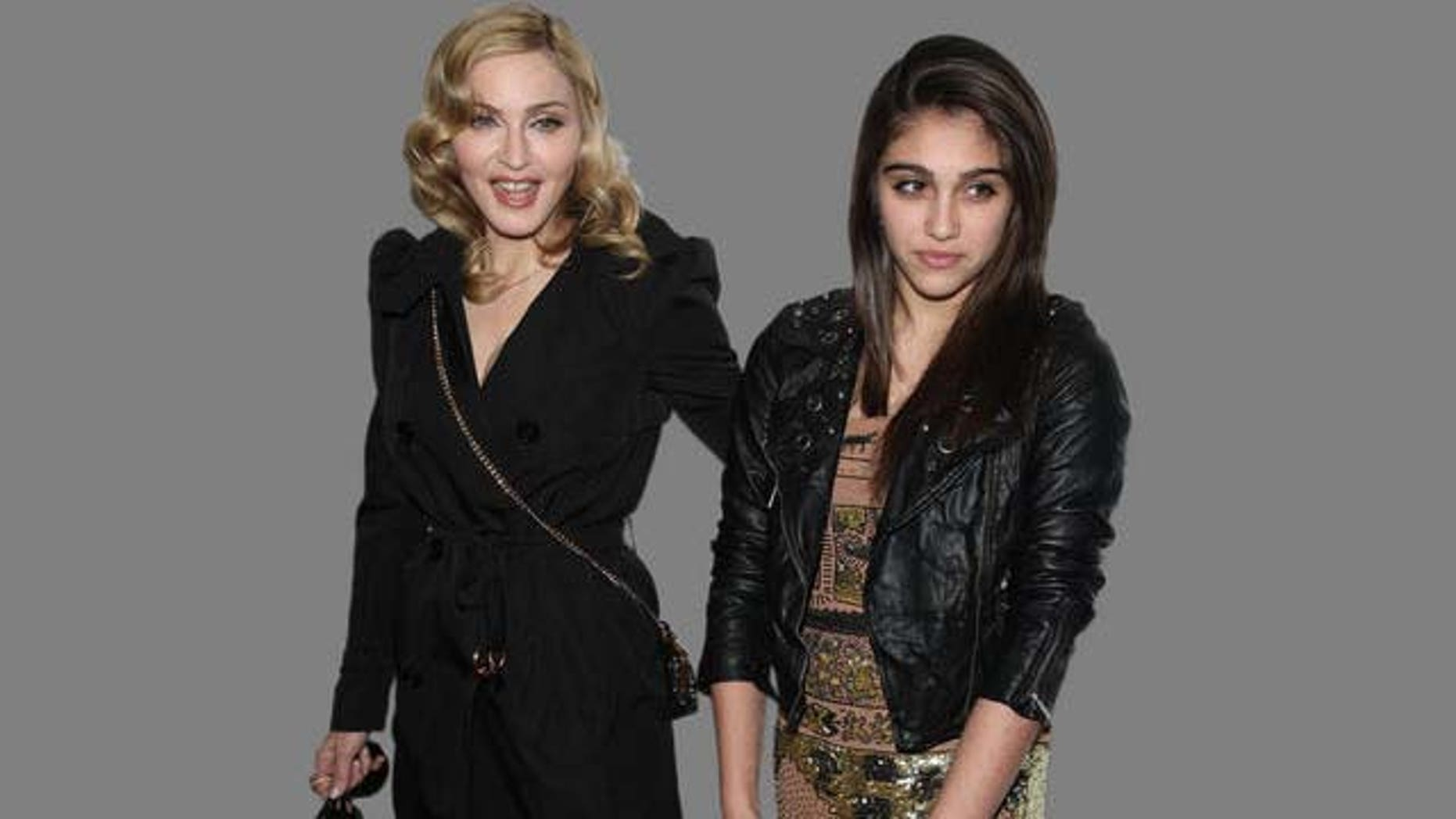Madonna and Lourdes Leon attend the 2nd Annual Bent On Learning Benefit in New York, on Wednesday, April 28, 2010. (AP Photo/Peter Kramer)