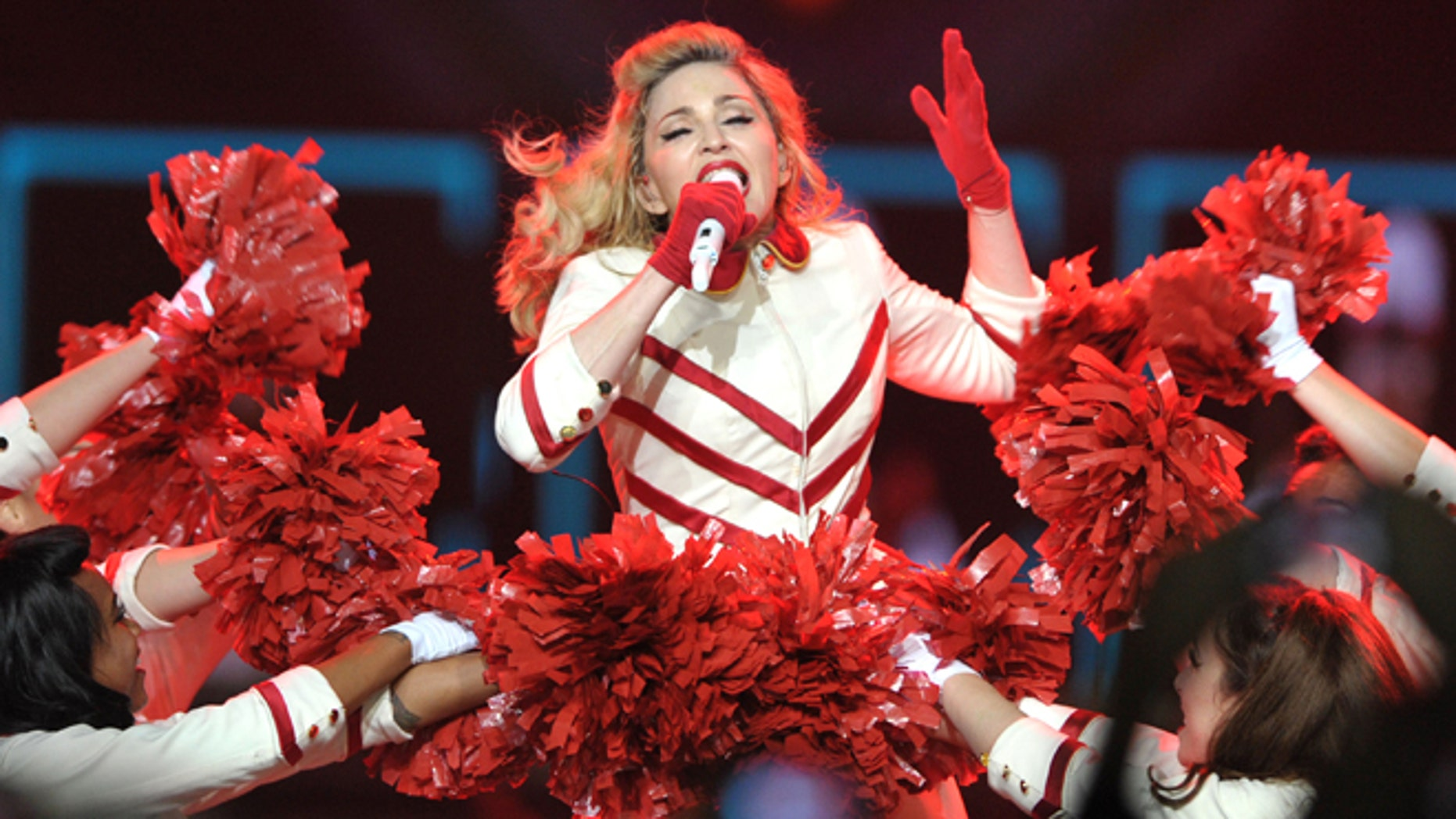 "Oct. 10, 2012: Madonna performs on the ""MDNA"" tour at Staples Center in Los Angeles."