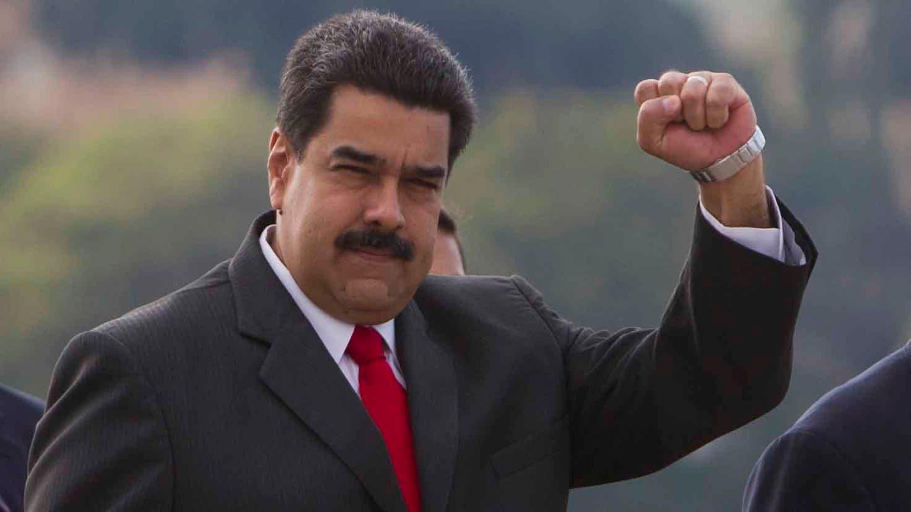 Venezuela's President Nicolas Maduro on March 18, 2016 in Havana, Cuba.