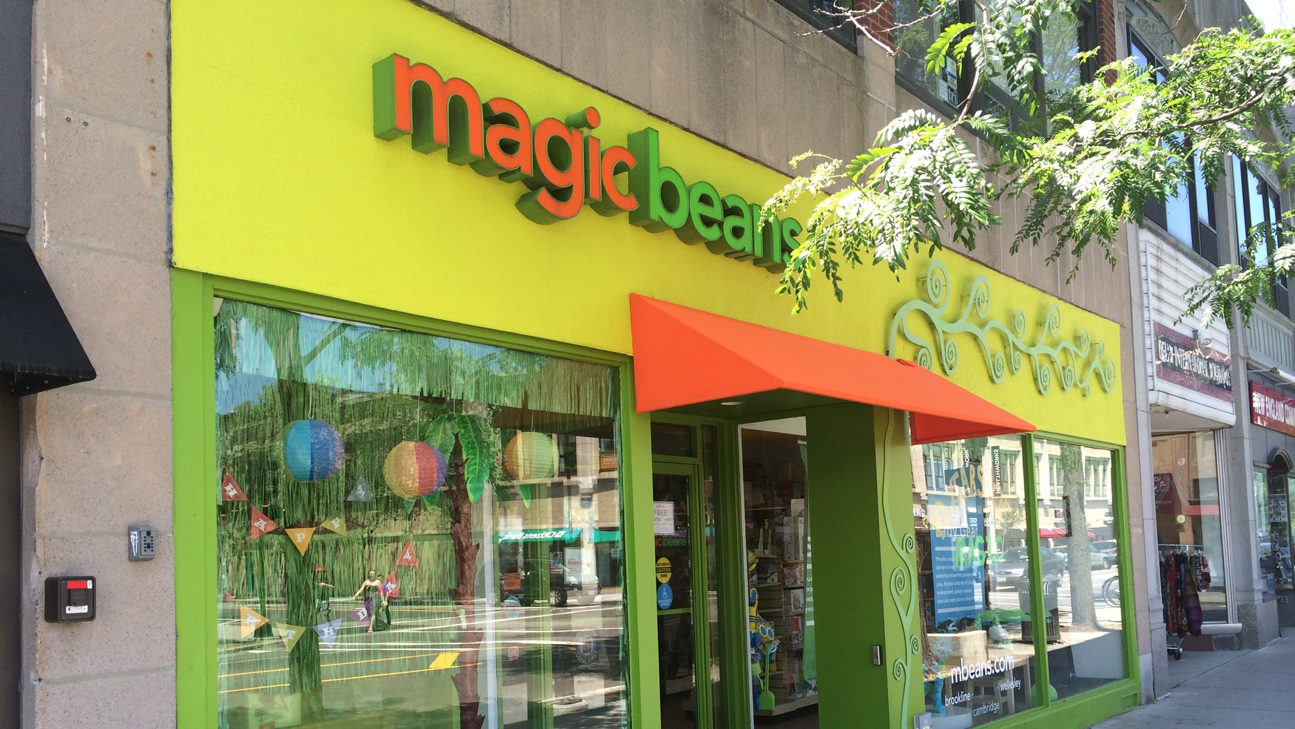 A Magic Beans store in Brookline, Mass. (Courtesy of the author)