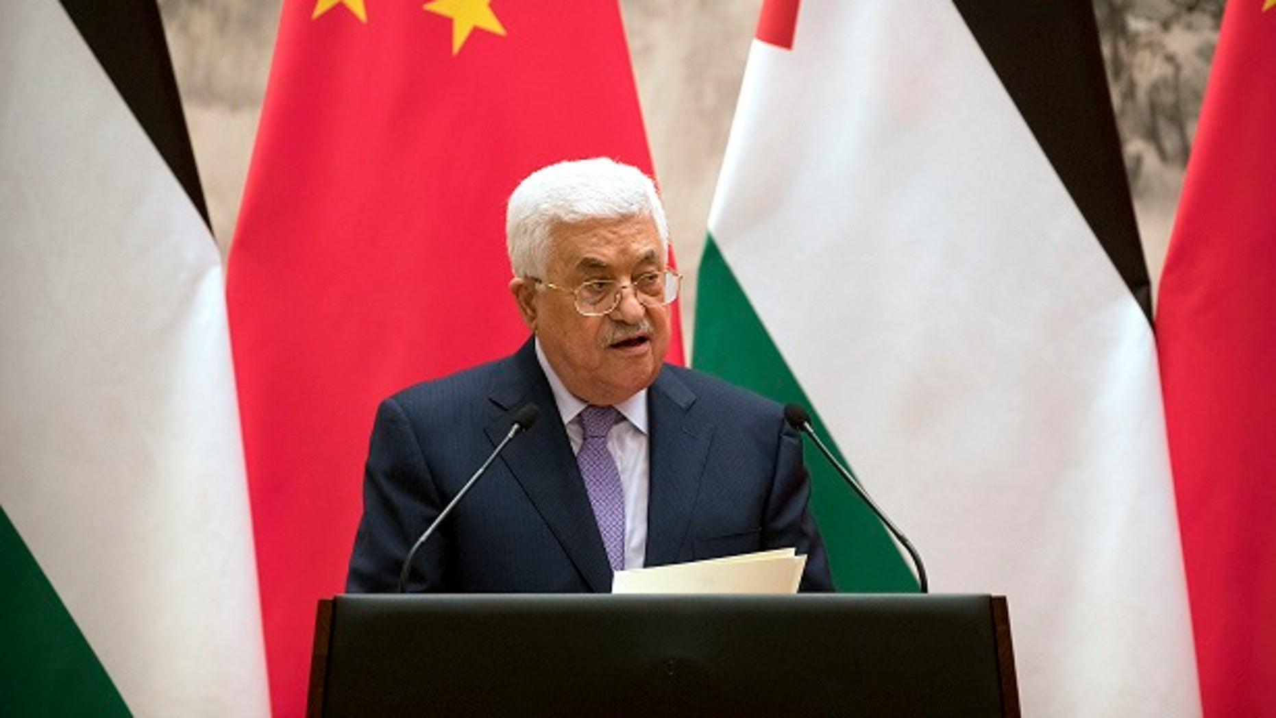 Palestinian President Mahmoud Abbas is in the hospital for a routine checkup, his spokesperson said.