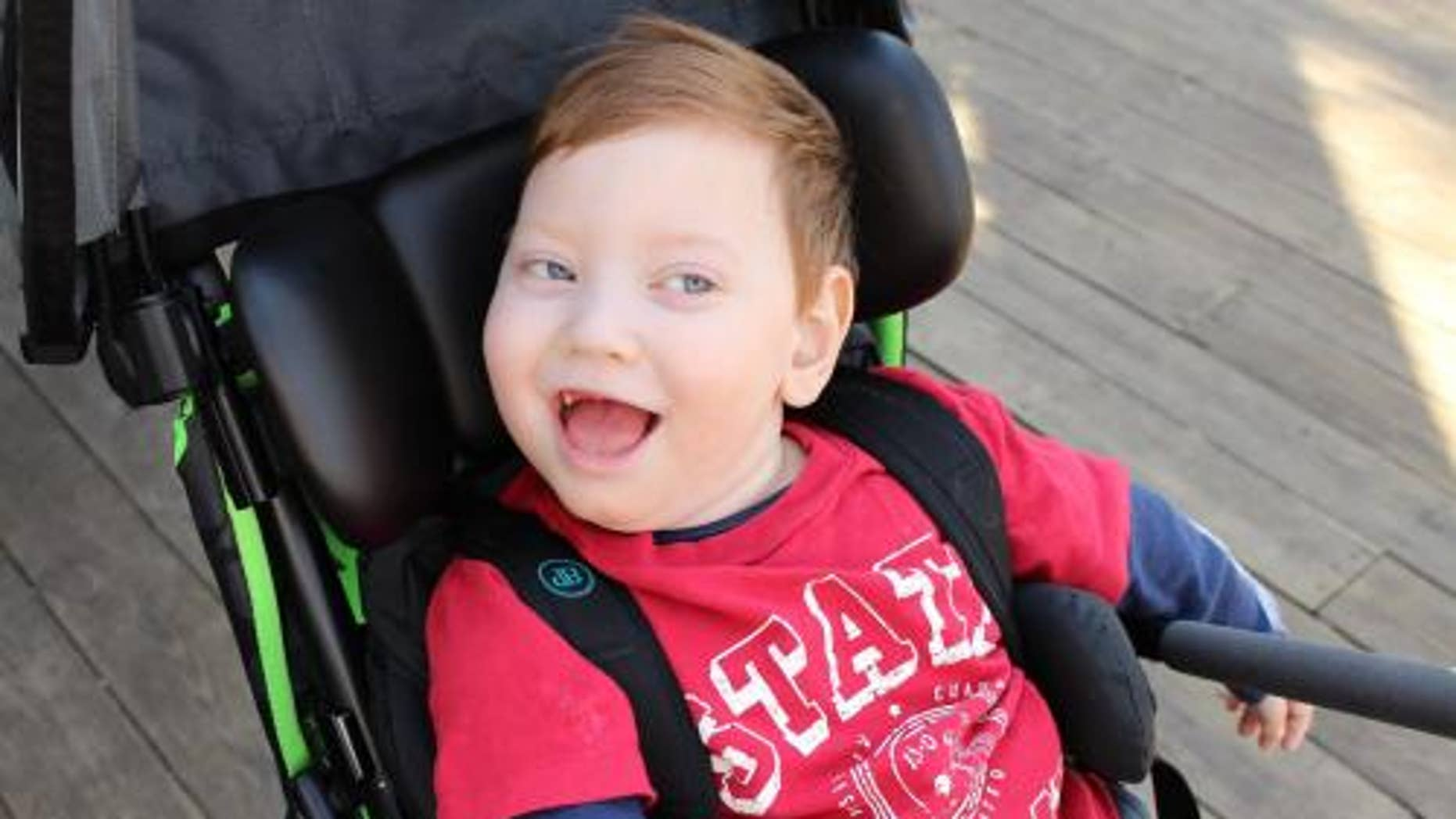 Malachi was born weighing just over 1 pound at 24 weeks gestation.