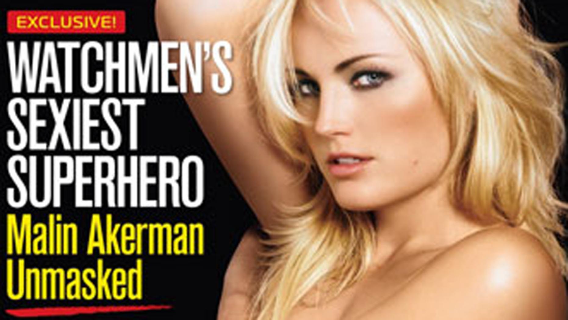 Malin Ackerman in Maxim. (Maxim)