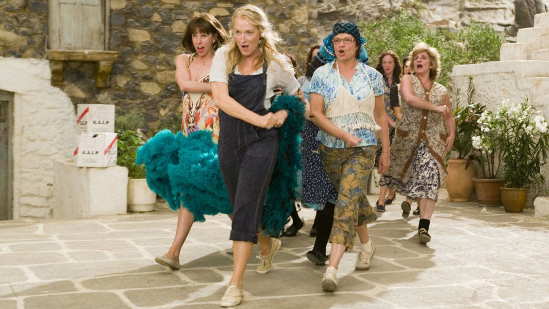 """A live-action """"Mamma Mia!""""-related show is coming to London next spring, Playbill reports."""