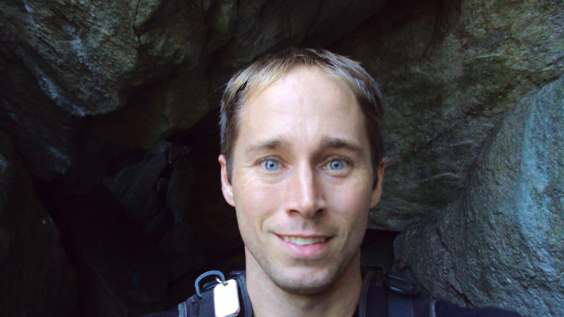 This undated photo shows Matthew Greene, a popular Pennsylvania math teacher who vanished while on a backpacking trip in California last month.