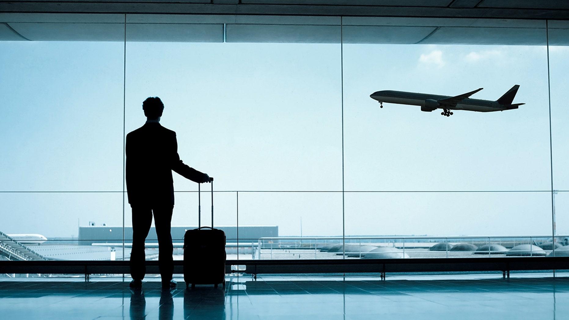 The incident occured at Chhatrapati Shivaji International Airport.