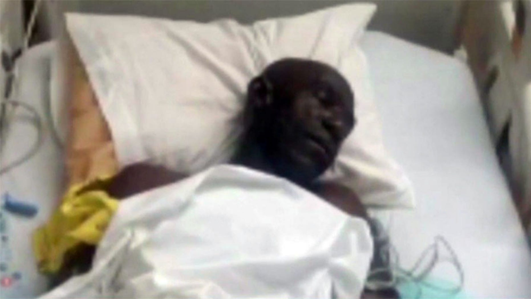 A Nigerian man flying to Chicago from Dubai claims he was beaten, bound and deprived of food and water after an altercation occurred between him an a flight attendant over his seat assignment.