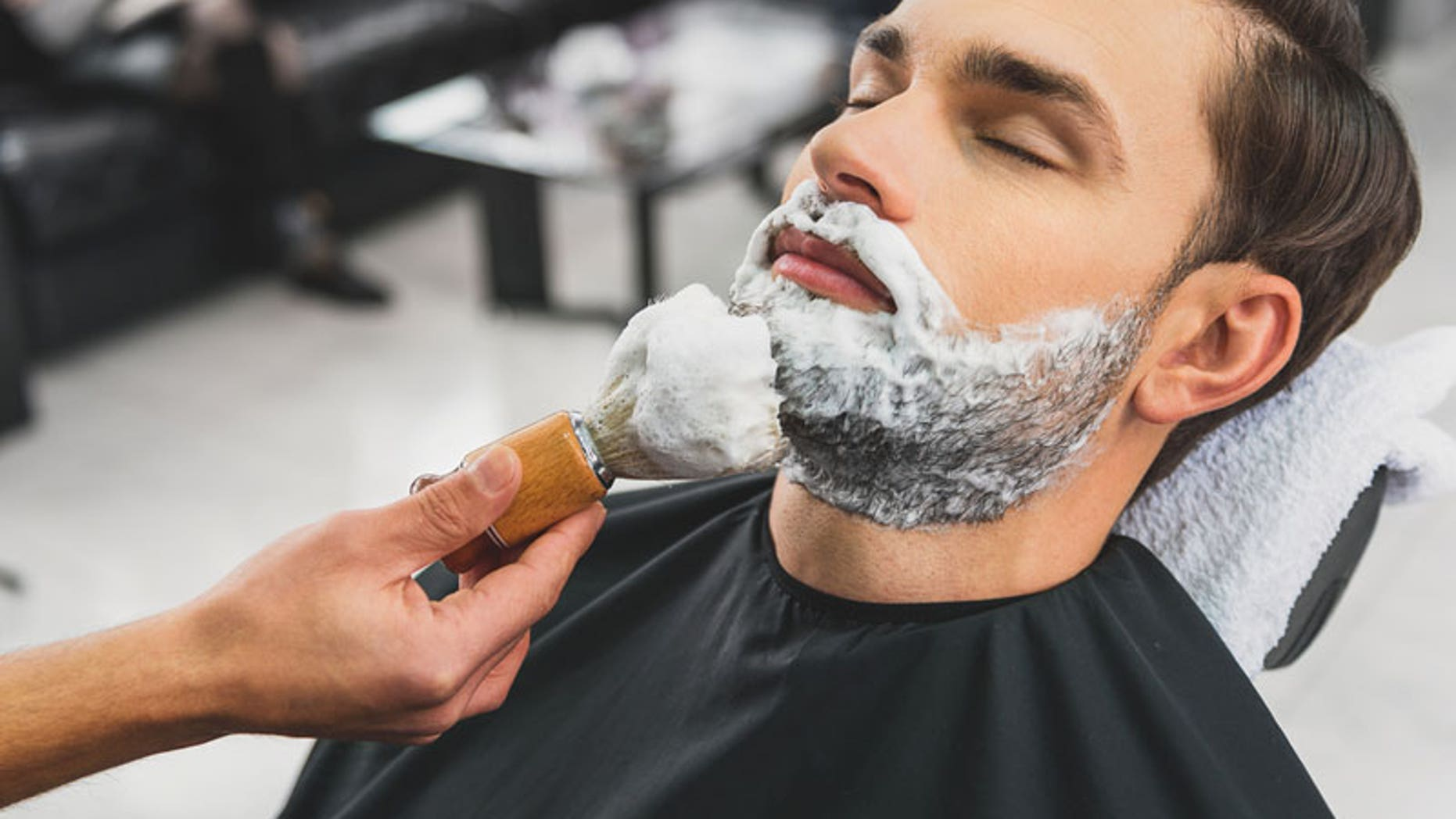 Men's shaving brushes made from animal hair were linked with cases of anthrax around the time of World War I, according to a new report.