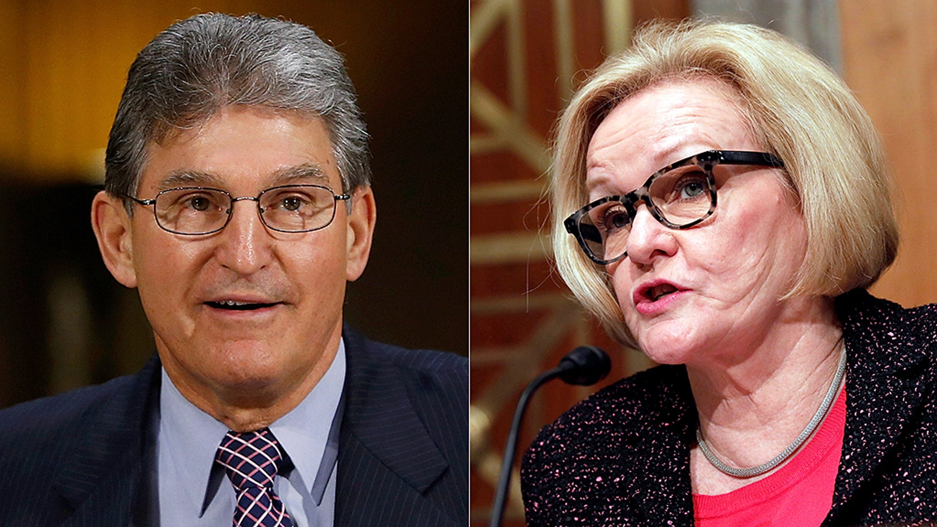 Sen. Joe Manchin accidentally cracked Democratic Sen. Claire McCaskill's rib while performing the Heimlich maneuver at a caucus luncheon.
