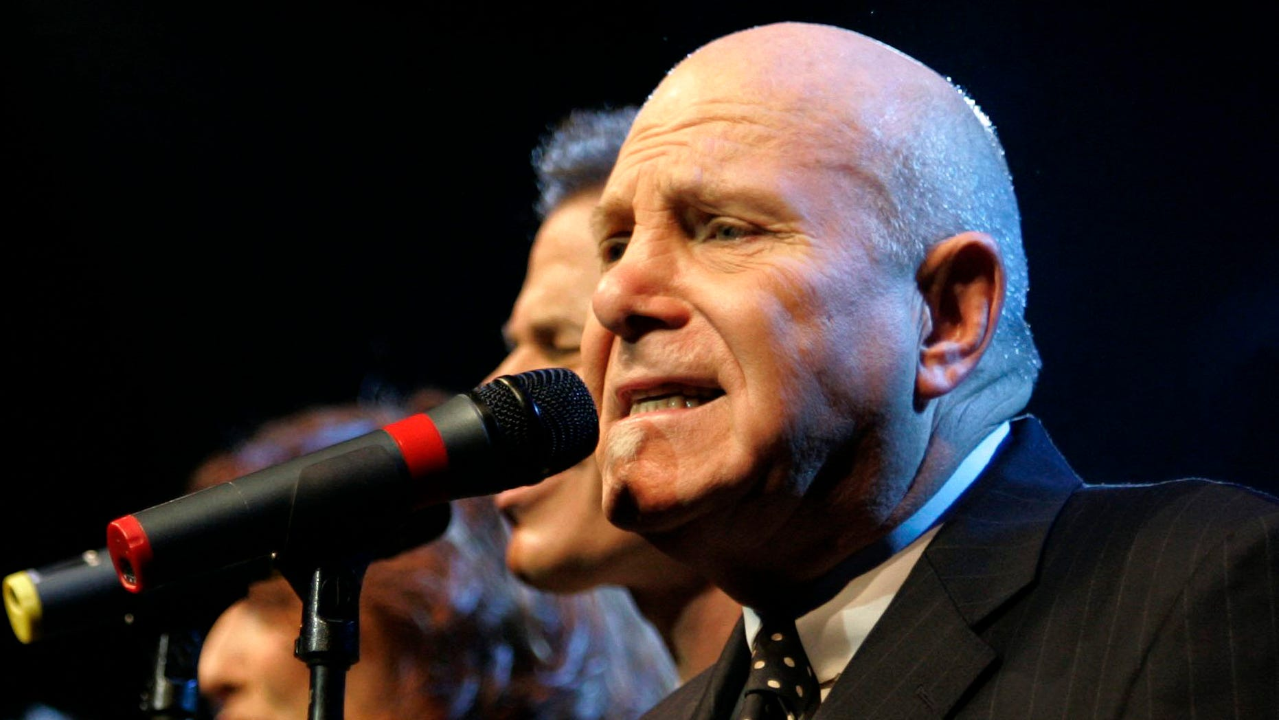 Nov. 8, 2006.Tim Hauser, right, performs with the other members of the U.S. vocal group The Manhattan Transfer at the Avo Session in Basel, Switzerland.