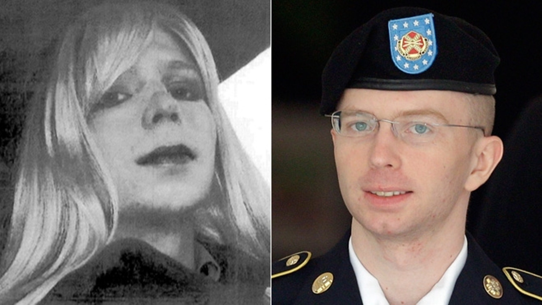 Pfc. Bradley Manning believes he is a woman trapped in a man's body. (AP)