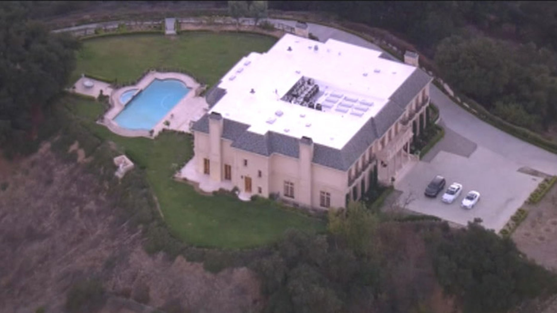This is the rented mansion in which a Saudi prince allegedly sexually assaulted a maid. (Fox News)