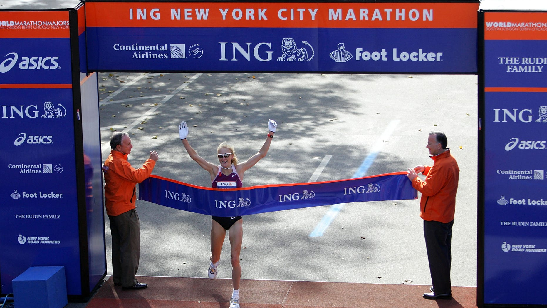 FILE PHOTO 2008 ING New York City Marathon.