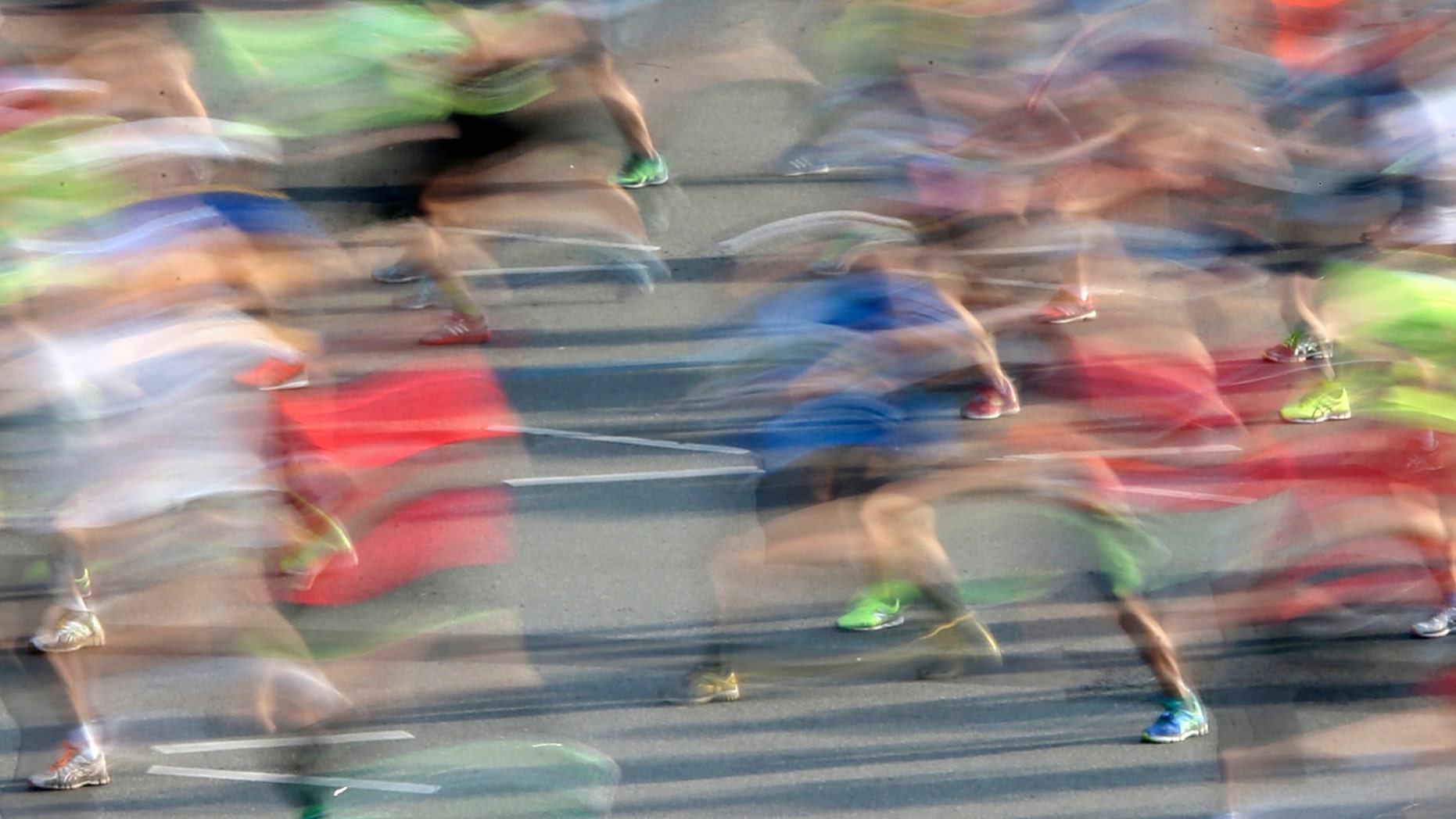 File photo - Runners compete at the Berlin marathon in Berlin, Germany, Sept. 25, 2016. (REUTERS/Fabrizio Bensch)