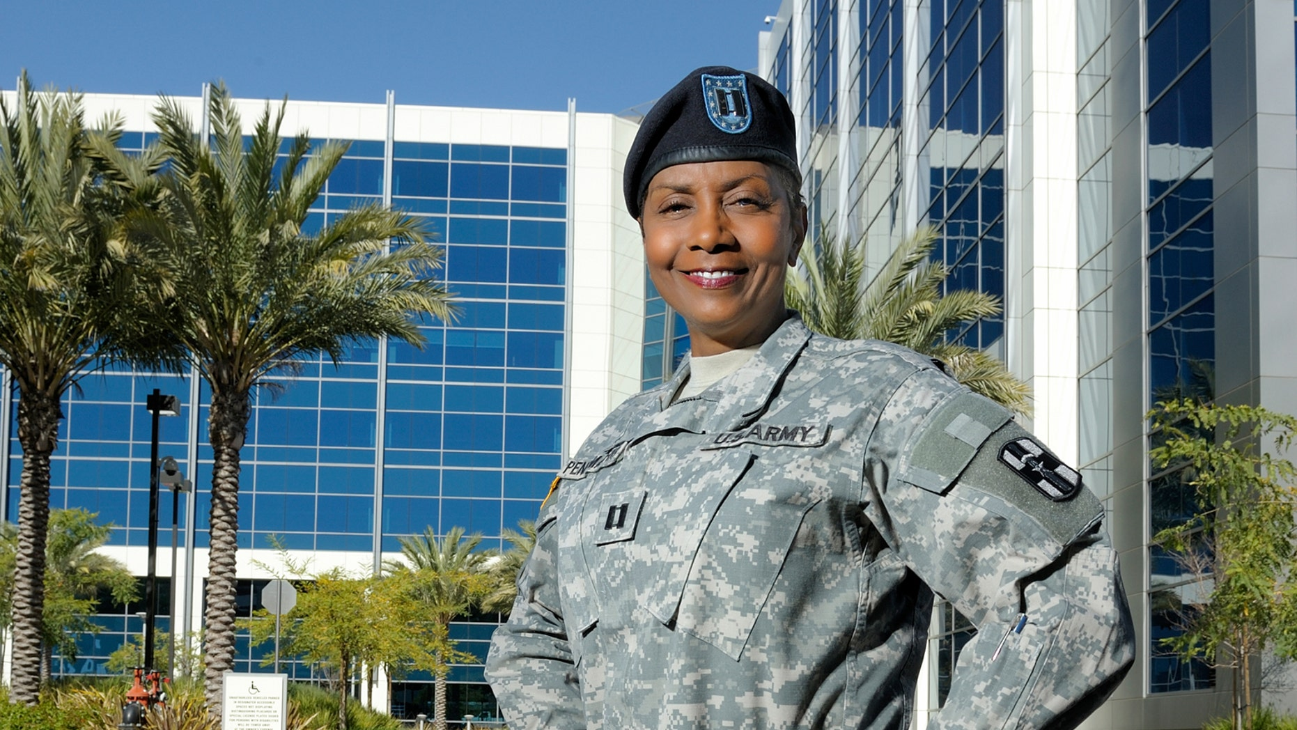 About 2,700 veterans, among them Marcelle Pann Mathis (pictured here) are mentored by someone in the corporate world through ACP.