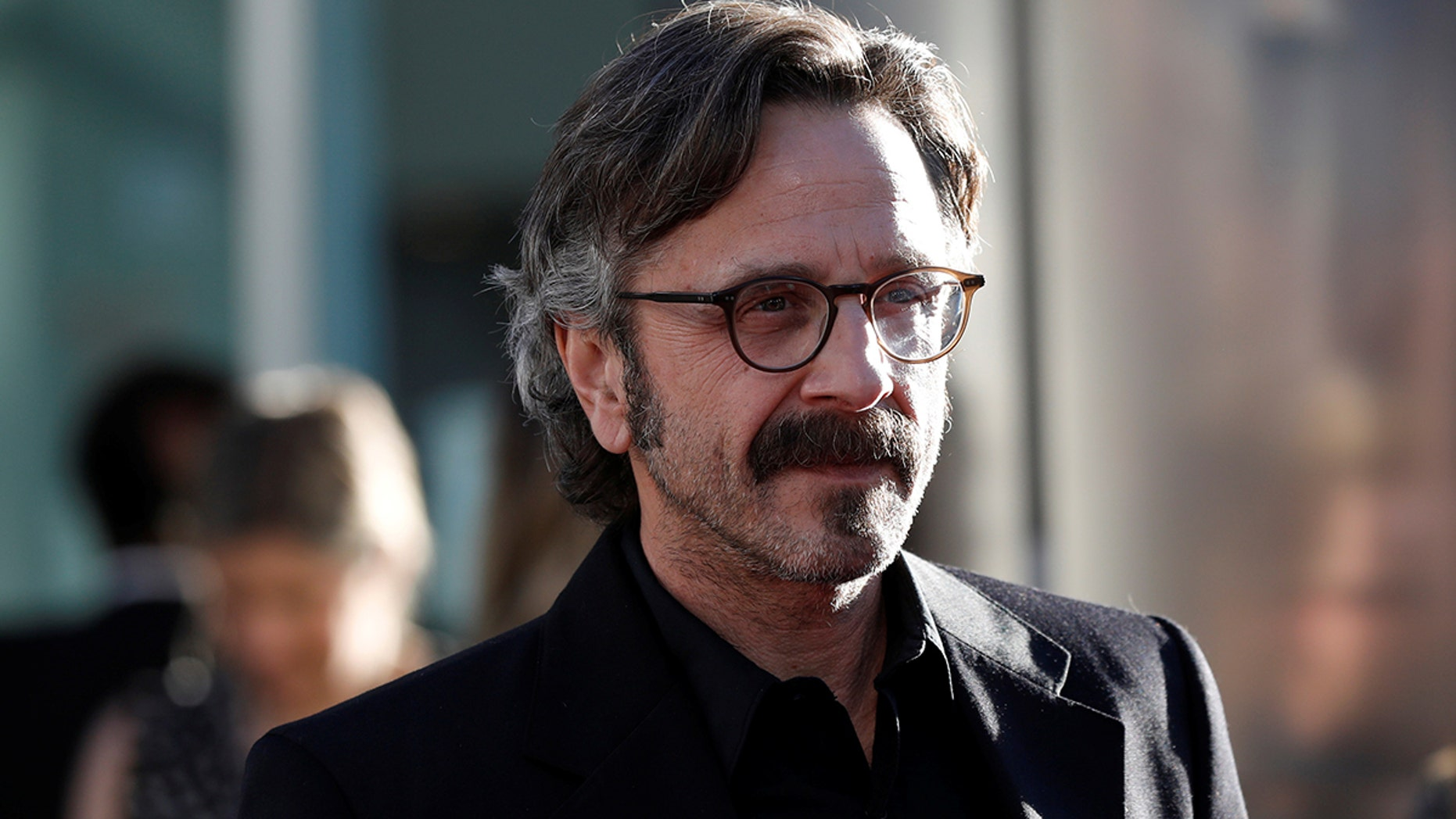 """Cast member Marc Maron poses at a premiere for the television series """"Glow"""" in Los Angeles, California, U.S., June 21, 2017.   REUTERS/Mario Anzuoni - RC1554EDEE80"""