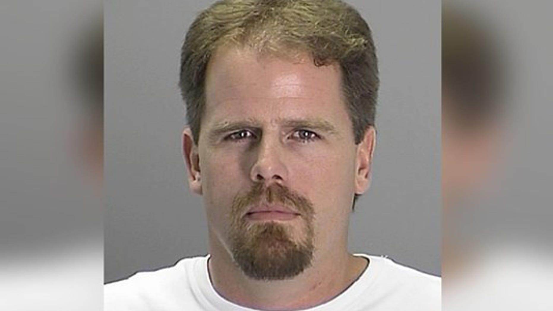 Marc Thomas Boysen was allegedly involved in three crashes on Saturday.
