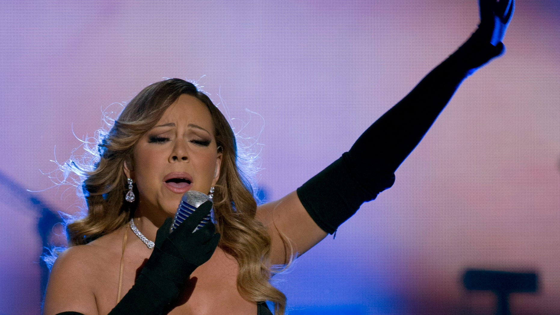 February 8, 2014. Mariah Carey performs onstage during BET Honors 2014 at Warner Theatre in Washington.