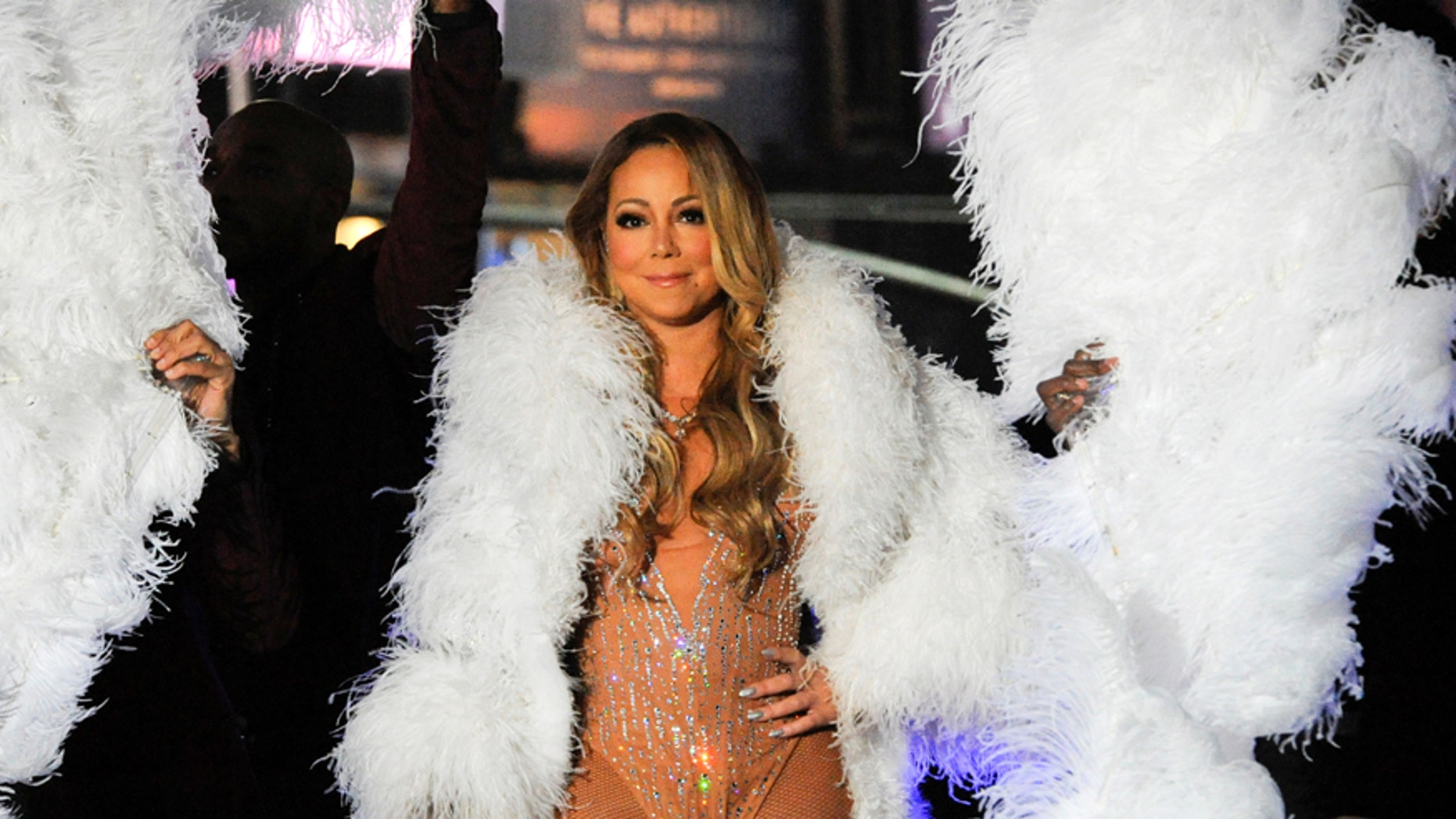"""Carey was slammed for her less than wonderful performance on """"Dick Clark's Rockin' New Year's Eve."""" The singer stopped singing in the middle of her performance, began pacing the stage and told the audience to finish the lyrics for her. Carey blamed herdisastrous show on technical difficulties and said it was Dick Clark Productions fault for not addressing the tech issues before the performance, including a malfunctioning earpiece. The production company denied Carey's claims."""