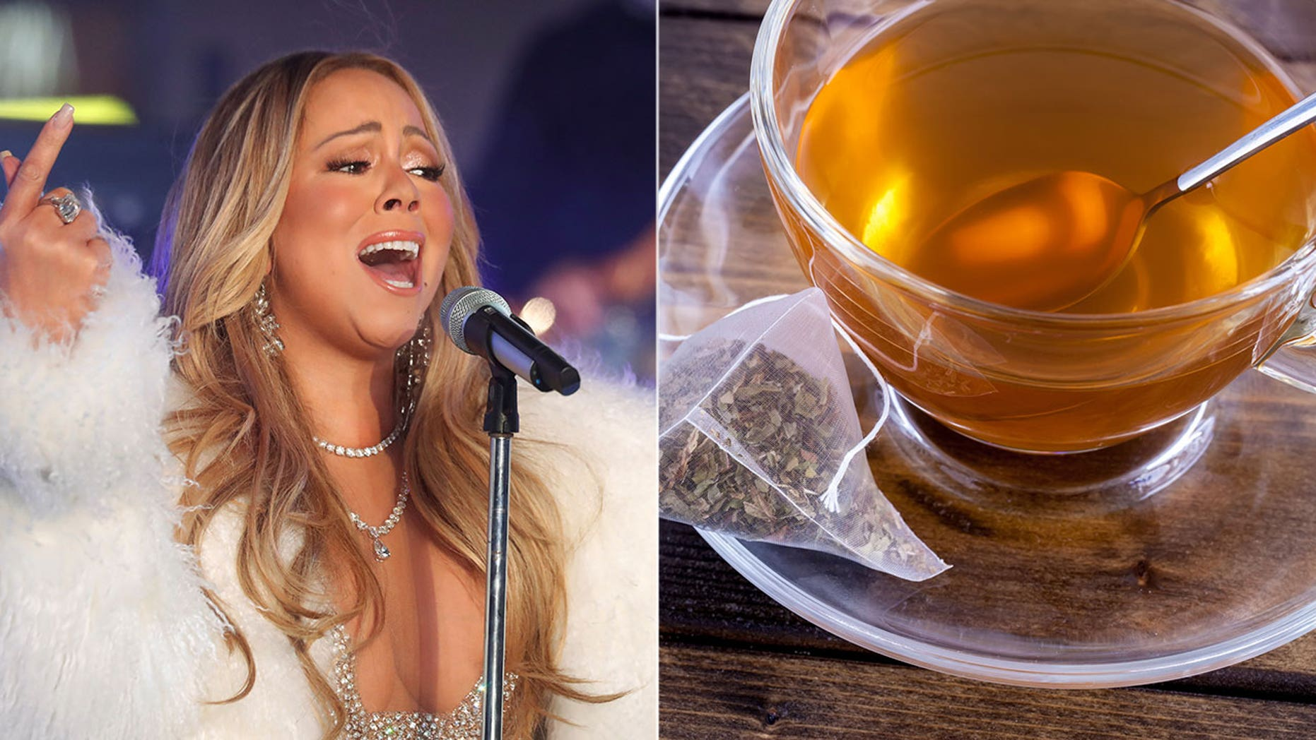 Weeks after her New Year's Eve performance, Mariah Carey is being credited with a rise in tea sales.