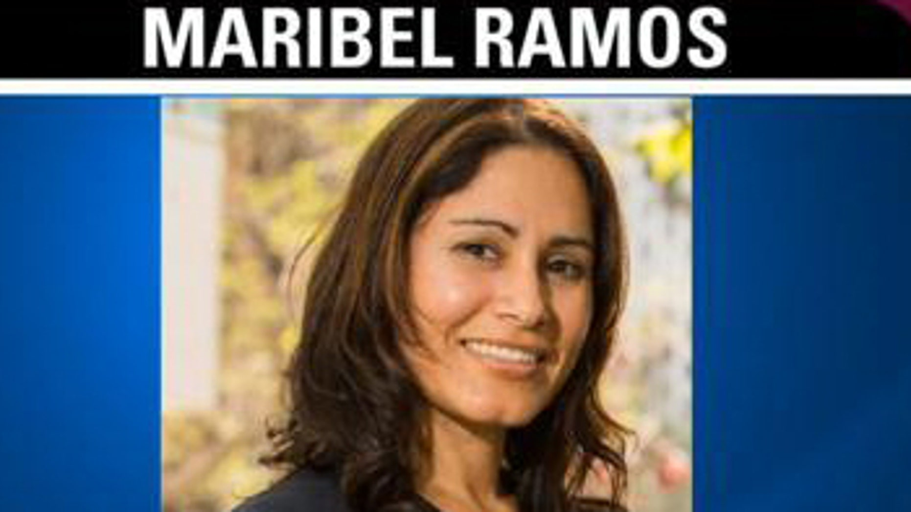 This undated photo shows 36-year-old Army veteran Maribel Manriquez Ramos, who was reported missing on  May 2.