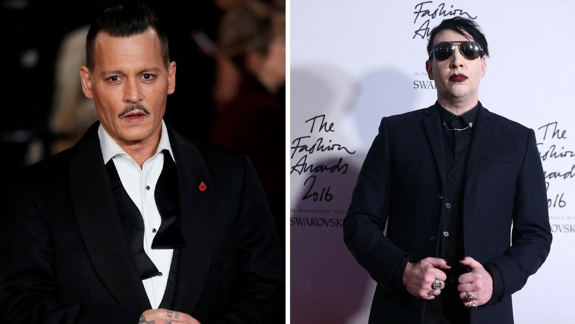 Marilyn Manson said Johnny Depp was considering joining his band.