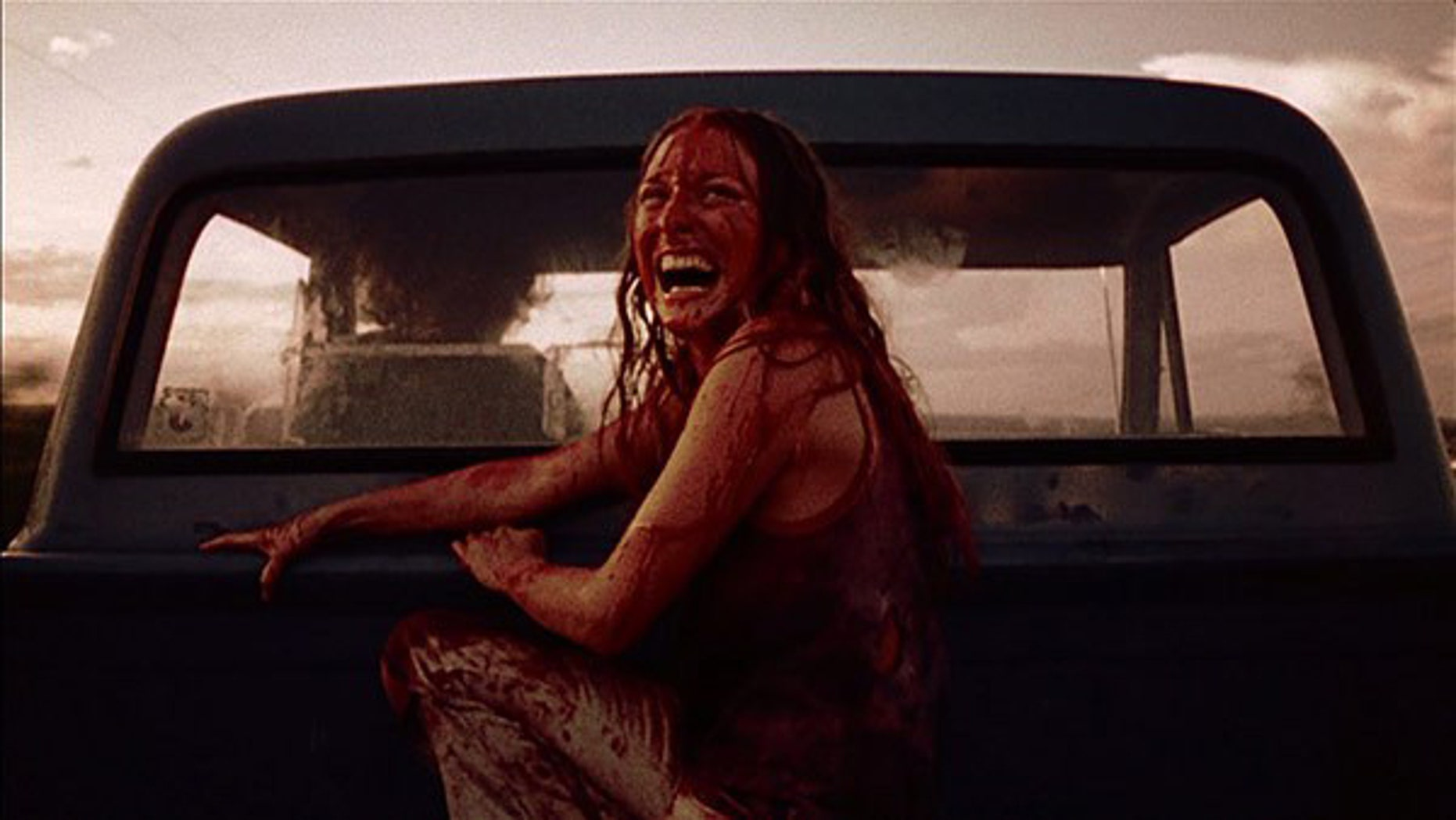 "Marilyn Burns in ""Texas Chainsaw Massacre."""
