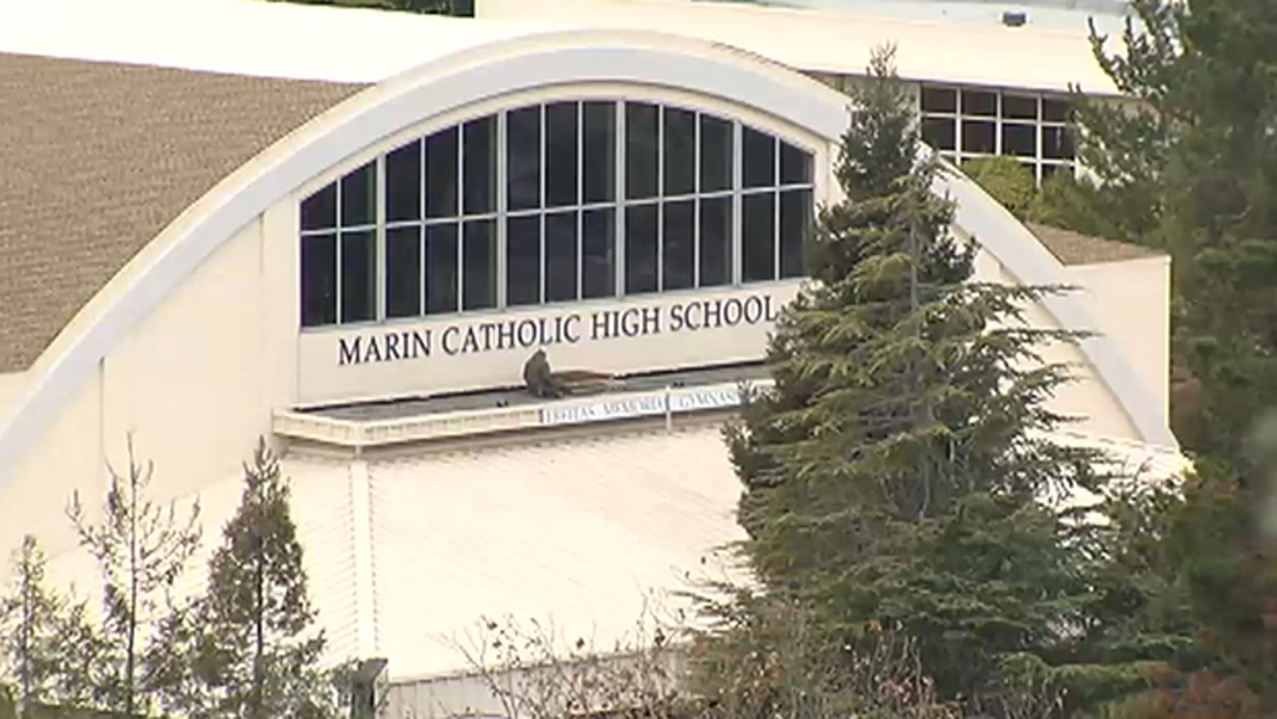 Marin Catholic High School in Kentfield, California.