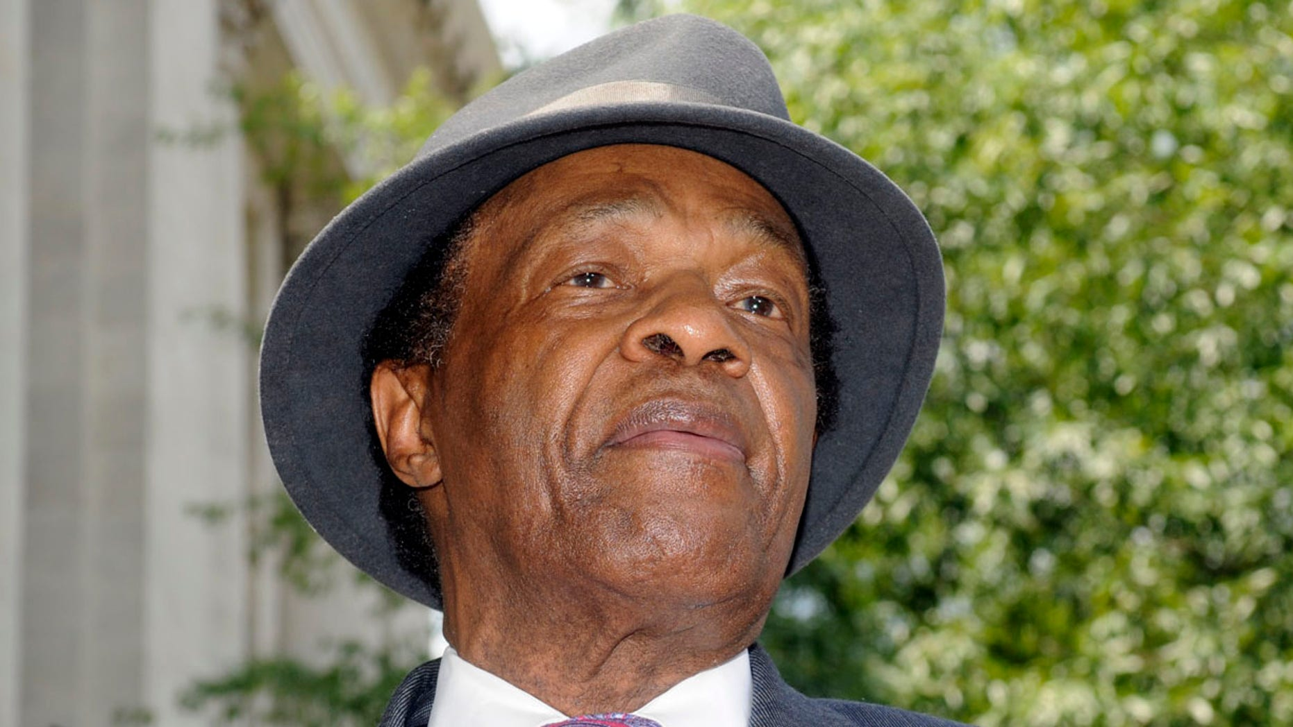 July 9, 2009: Marion Barry, former mayor of DC, speaks at a news conference.