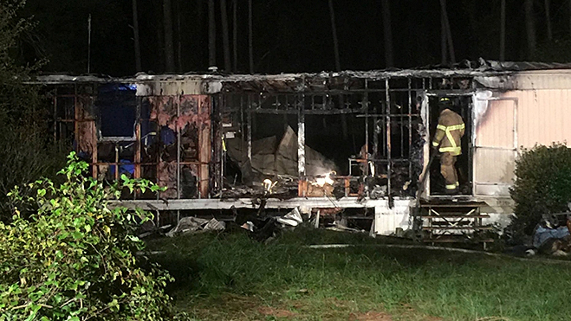 A candle may have started a mobile home fire that claimed the life of a 10-year-old boy in Florida. The home lost power during Hurricane Irma.