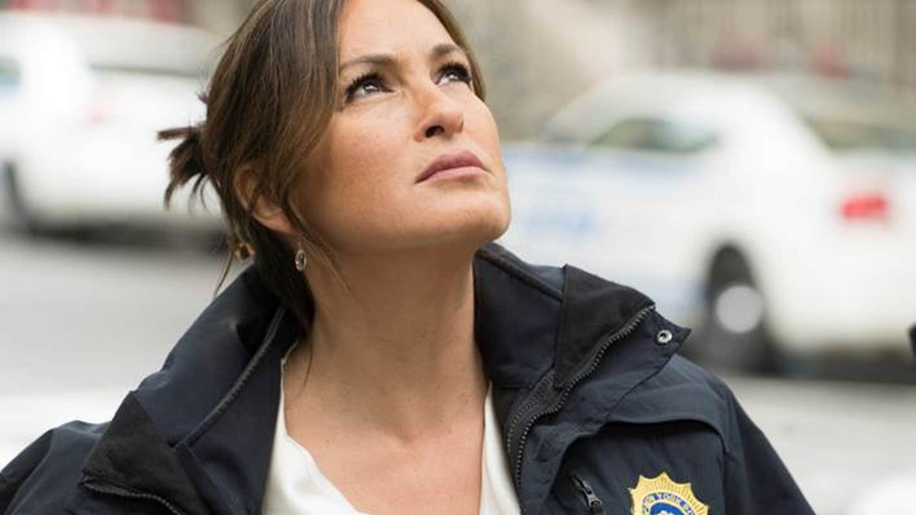 Mariska Hargitay as Lieutenant Olivia Benson on 'Law & Order: SVU'