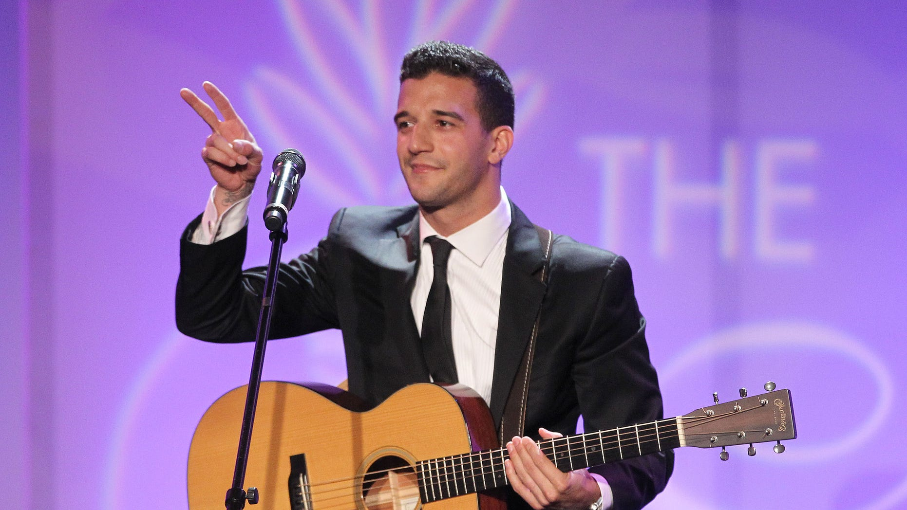 BEVERLY HILLS, CA - AUGUST 12: Mark Ballas performs during the 26th Annual Imagen Awards Gala at the Beverly Hilton Hotel on August 12, 2011 in Beverly Hills, California.  (Photo by Frederick M. Brown/Getty Images)