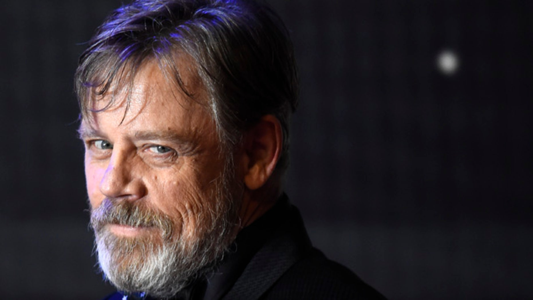 Mark Hamill shared a photo of himself as Luke Skywalker on the first day of filming 'Star Wars.'