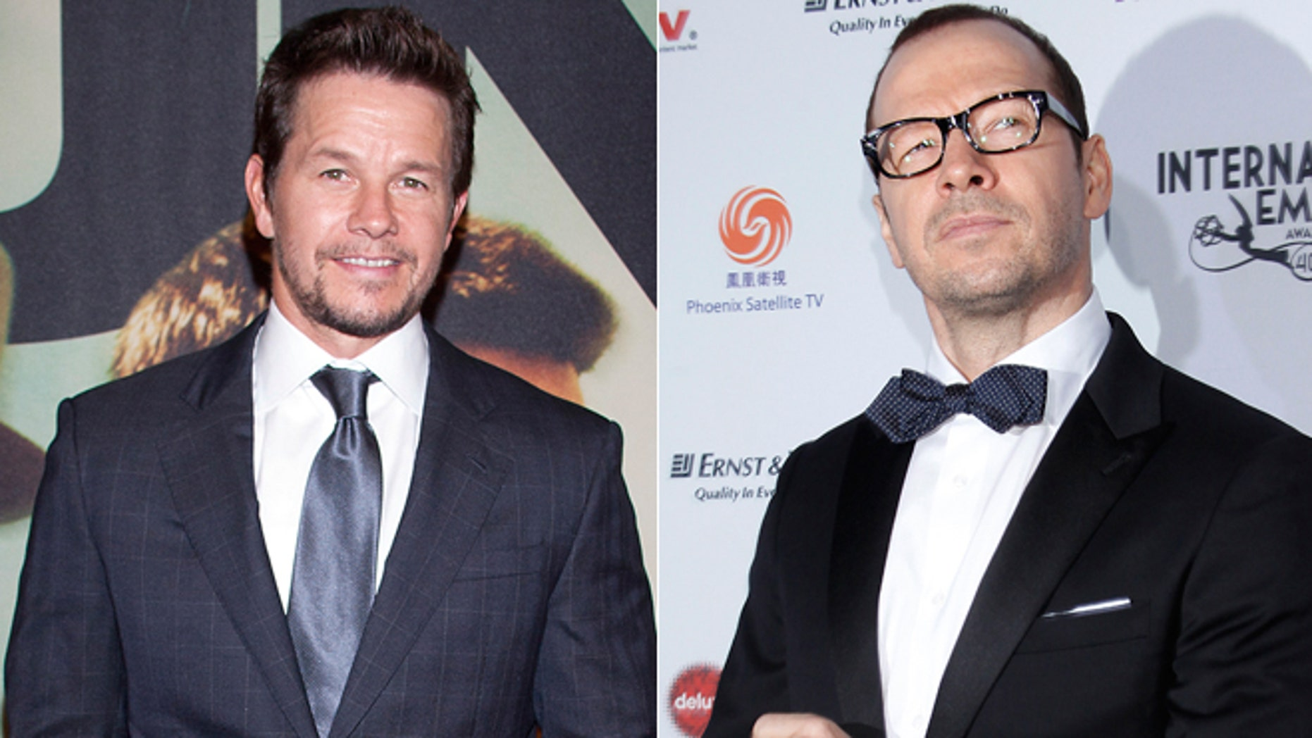 Mark, left, and Donnie Wahlberg.