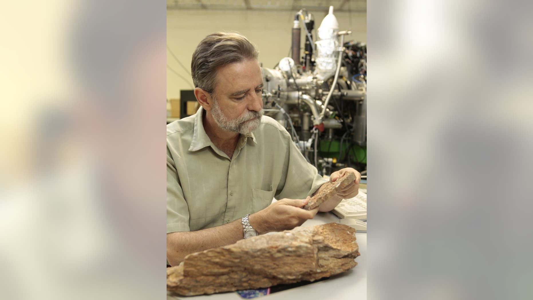UCLA's Mark Harrison was one of the researchers whose study concluded that Earth was 300 million years older than previously thought. (Reed Hutchinson/UCLA)