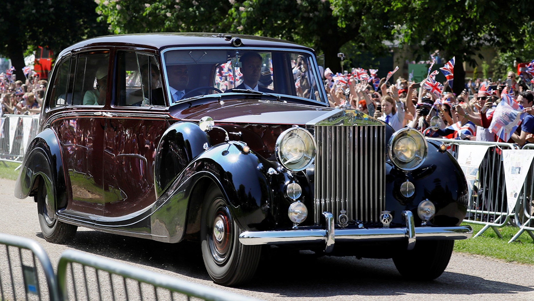 The royals' 1950 Rolls-Royce Phantom IV is worth over $1 million.