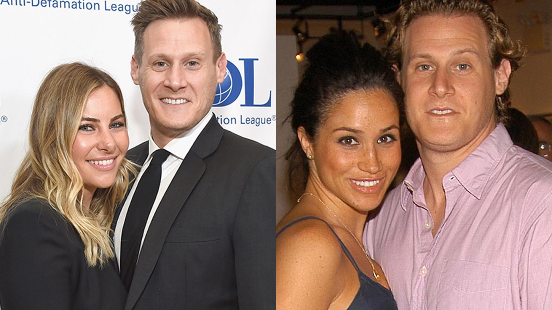 Trevor Engelson is engaged to girlfriend Tracey Kurland following ex-wife Meghan Markle's marriage to Prince Harry on May 19.