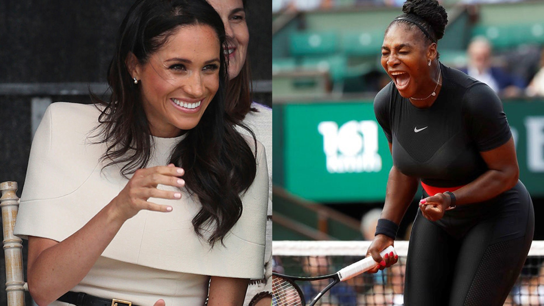 The new Duchess of Sussex may have shared her royal baby's gender with her friend Serena Williams