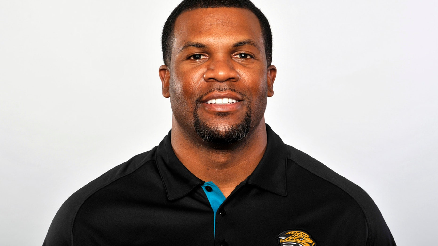Marlon McCree is pictured in 2012, when he was the Jacksonville Jaguars assistant defensive backs coach.
