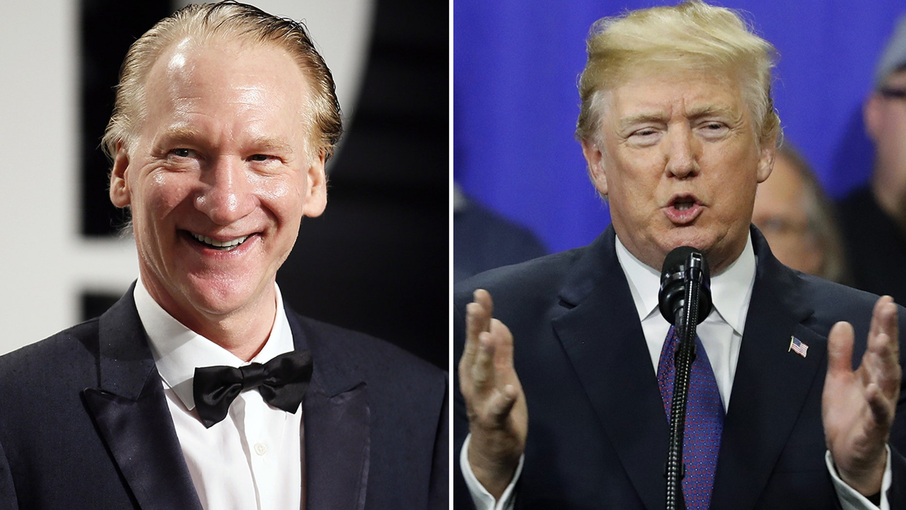 Comedian and TV host Bill Maher blasted Trump over his plan for an extravagant military parade on his show Friday night.
