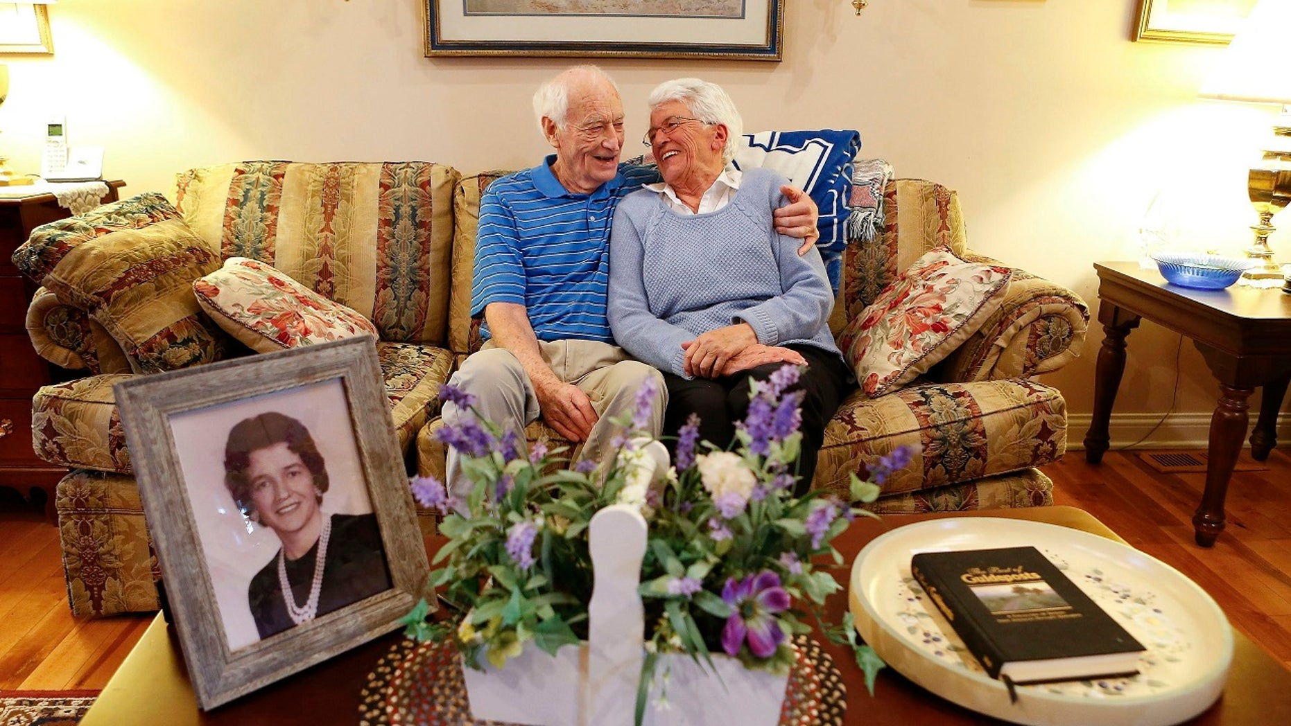 Kentucky couple Harold Holland and Lillian Barnes are set to marry this month -- fifty years after they divorced.