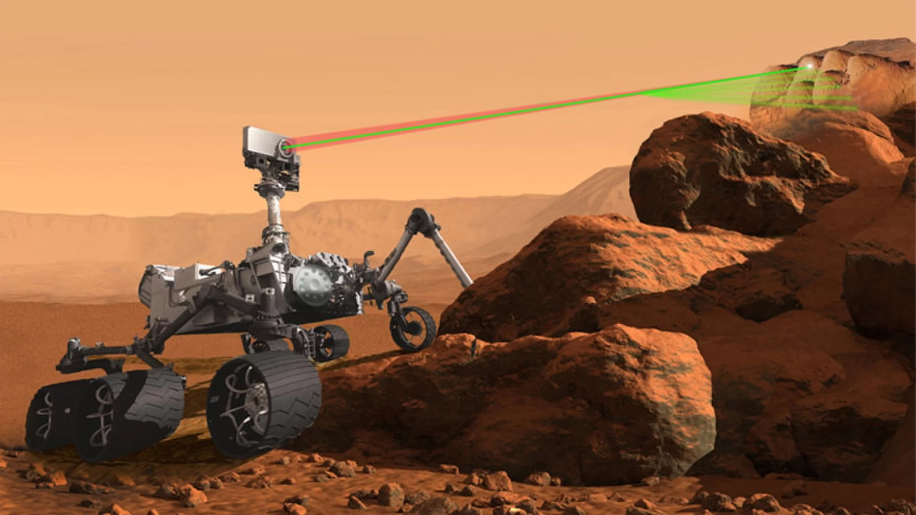 NASA's Mars 2020 rover is designed to be able to identify potential traces of ancient life on Mars. (Credit: NASA)