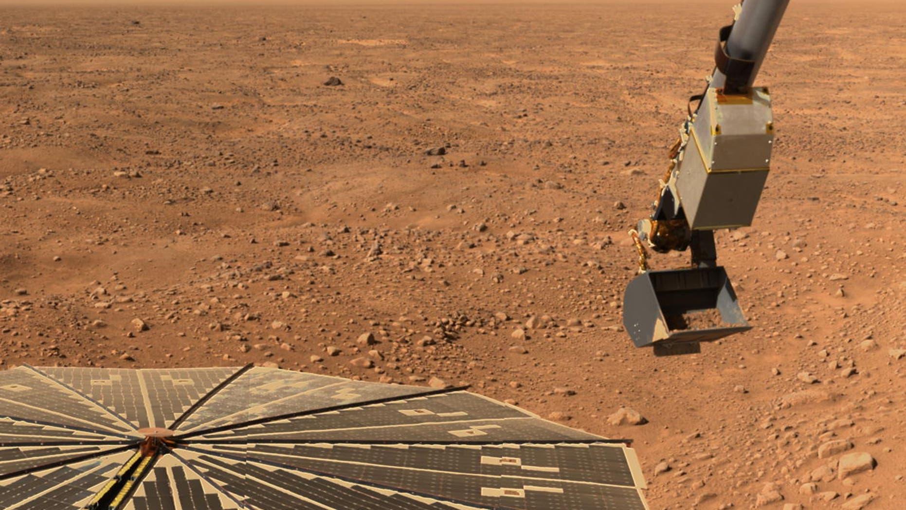 NASA's Phoenix Mars lander detected perchlorates in the Martian arctic's ice-rich soil in 2008.
